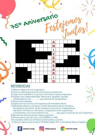 Crucigrama-aniversario
